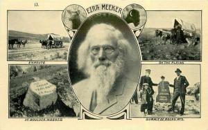 C-1910 Ezra Meeker Multi View postcard 5436 Summit 5436