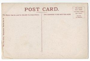 P1232 old england unused postcard horse & wagons people etc london hyde park