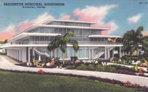 BRADENTON , Florida , 30-40s ; Bradenton Municipal Auditorium