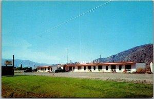 OSOYOOS, B.C. Canada Postcard ROGERS MOTEL Highway 3 Roadside c1960s Unused