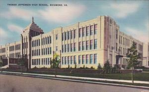 Virginia Richmond Thomas Jefferson High School