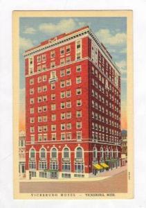 Vicksburg Hotel (Exterior), Vicksburg, Mississippi, PU-1944