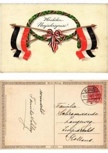 CPA In grosser Zeit Meissner & Buch Litho Serie 2095 (730405)