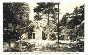 Real Photo - Longellows Wayside Inn South Sudbury MA Unused