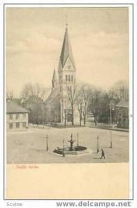 Skofde Kyrka, Town Square,Sweden, 1900-1910s