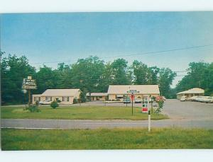 Unused Pre-1980 MOTEL SCENE Gainesville Virginia VA HJ9135