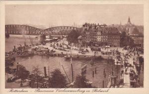 Panorama Vierleeuwenbrug En Bolwerk, Rotterdam (South Holland), Netherlands, ...