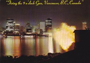 The Nine O'Clock Gun Vancouver British Columbia Canada