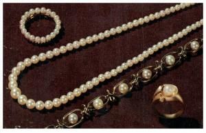16759 NY Poughkeepsie  Zimmer Brothers  Pearl Jewelry