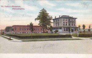 Pennsylvania Philadelphia Saint Lukes Hospital 1909