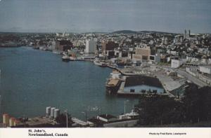 Aerial View, Where Sir Humphrey Gilbert Landed, St. John's Harbour, Newfoundl...
