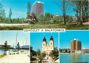 Hungary Postcard Lake Balaton multiview