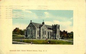 NY - Troy. Emma Willard School, Gymnasia Hall