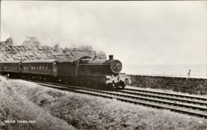 Train Railroad Railway Locomotive near Dawlish