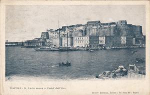 S. Lucia Nuova E Castel Dell'Ovo, NAPOLI (Campania), Italy, 1910-1920s