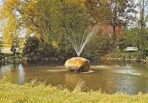 Lorup Huemmling Gemeindeverwaltung Brunnen Fountain Bench