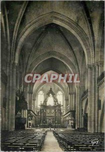 Postcard Modern France and its Angers Interior Wonders Cathedrale