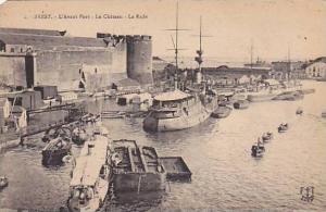 L'Avant Port, Le Chateau- La Rade, Brest (Finistere), France, 1900-1910s