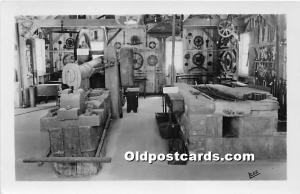 Old Vintage Shaker Post Card Forge Shop, The  Museum Old Chatham, New York, N...