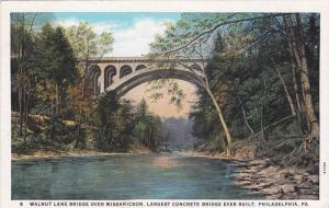Walnut Lane Bridge Over Wissahickon, Philadelphia, Pennsylvania, 1910-1910s
