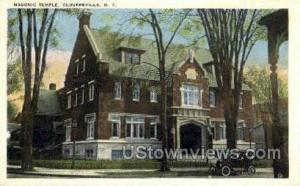 Masonic Temple Gloversville NY Unused