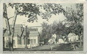 Clear View Miniature House Clinch Traverse City Michigan C-1910 Postcard 20-290