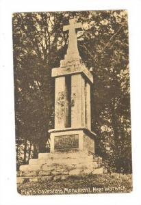 Piers Gaveston's Monument, Near Warwick, England, UK, 1900-1910s