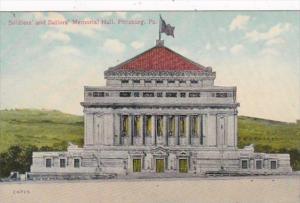 Pennsylvania Pittsburg Soldiers and Sailors Memorial Hall