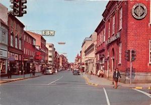 HERNING DENMARK DANEMARK STREET VIEW~VW VAN~STOREFRONTS POSTCARD 19167 PSTMK
