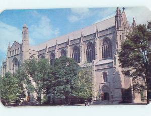 Unused Pre-1980 CHURCH SCENE Princeton New Jersey NJ L3774