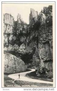 RP  Castle Rocks, CHEDDAR, UK 1910-20s