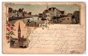1904 Gruss aus Danzig Postcard