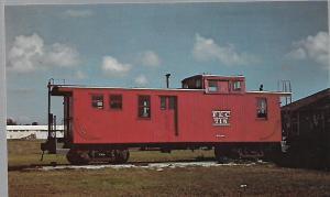 FLORIDA EAST COAST RAILWAY CABOOSE #715 FLORIDA MUSEUM