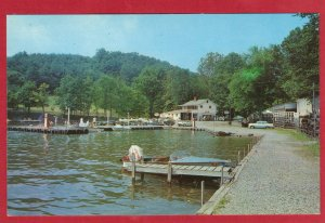 YOCUM'S BOAT HOUSE, RAYSTOWN DAM, HUNTINGDON, PA (PC184) SEE SCAN