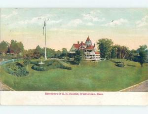 Pre-1907 HISTORICAL HOME Springfield Massachusetts MA A2992