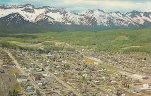 Aerial view,  Fernie,  B.C.,  Canada,  40-60s