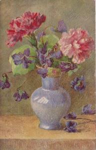 Tucks Flowers In Vases Beautiful Carnations