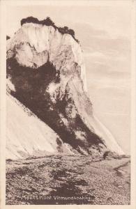 DENMARK, 1900-1910´s; Moensklint Vitmundsnakke