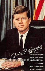 Memorial, John Fitzgerald Kennedy May 29, 1917-Nov 22, 1963 Unused
