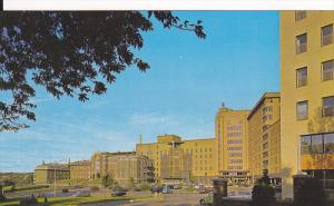 The Hotel-Dieu St. Vallier Hospital, Chicoutimi, Quebec, Canada, 40-60´s