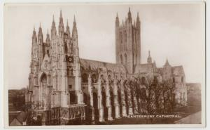 Kent; Canterbury Cathedral RP PPC By Excel, Unused, c 1930's