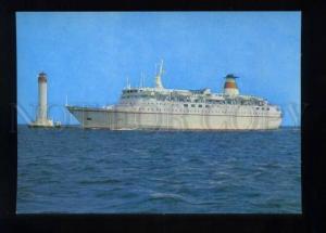165939 USSR Ukraine VORONTSOVSKY LIGHTHOUSE Motor Ship ODESSA