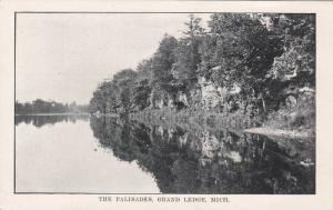 The Palisades, Grand Ledge, Michigan, PU-1910