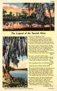 Legend Of The Spanish Moss Curteich