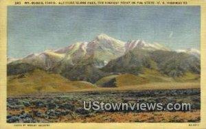 Mt Borah, ID,s; Mt Borah, Idaho