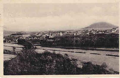 Bohemia and Moravia - Radnitz (Roudnice) View 1943
