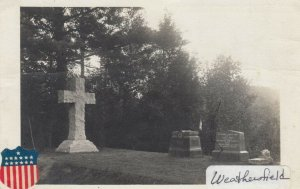 RP: WEATHERSFIELD , Vermont , 1917 ; Cemetery