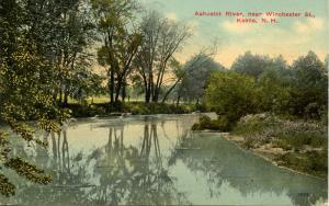 NH - Keene. Ashuelot River near Winchester Street