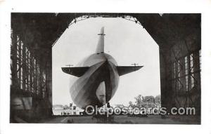 Air Ship Zeppelin Postcard Post Card Air Ship Zeppelin