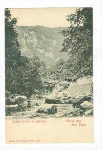 Jungfernbrucke im Bodethal, Gruss Aus Dem Harz (Saxony-Anhalt), Germany, 1900...